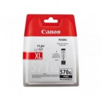 Cartus cerneala Original Canon Black, PGI-570XLB, pentru  MG5750/5751/6850/6851/7750/7751/7752/TS5050/6050/8050/9050, 22ml, BS