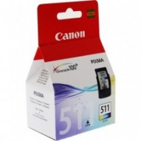 Cartus cerneala Original Canon CL-511  Color, compatibil MP240/MP260/, 244 Copies BS2972B001AA