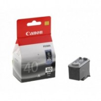 Cartus cerneala Original Canon PG-40  Black, compatibil iP1600/iP2200/MP150/MP160/MP170/MP180/MP210/MP220, 16 ml BS0615B001AA