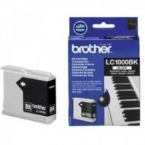 Cartus cerneala Original Brother LC1000BK Black, compatibil DCP-130C/330C/540CN, 500pag LC1000BK