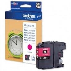 Cartus cerneala Original Brother LC125XLM Magenta, compatibil MFC-J4410DW/MFC-J4510DW, 1200 pag.LC125XLM