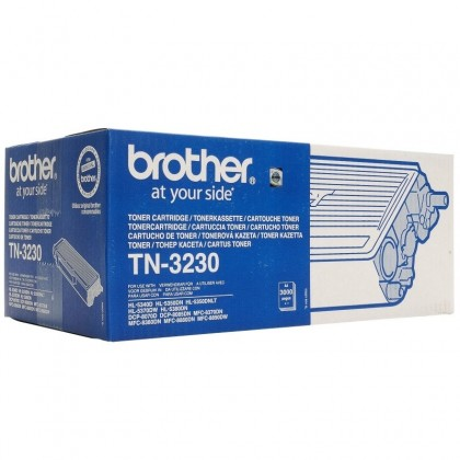 Toner Original Brother TN3230 Black pentru MFC-8370/8380/8880/DCP-8070/8085/HL-5340/5350/5380, 3000pag TN3230