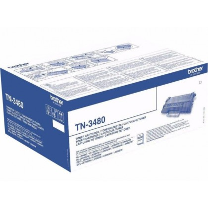Toner Original Brother TN3480 pentru HL-L6400DW, 8K, TN3480