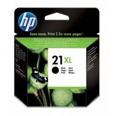 Cartus cerneala Original HP Black 21XL, compatibil DJ3920/3940/D1360/1560/F380/43xx/5610/PSC1402/1410, 12ml C9351CE