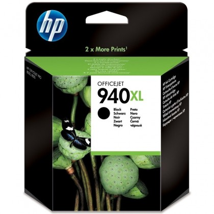 Cartus cerneala Original HP C4906AE Black 940XL, compatibil OfficeJet Pro 8000/8500, 2200pag C4906AE