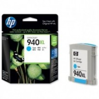 Cartus cerneala Original HP C4907AE Cyan 940XL, compatibil OfficeJet Pro 8000/8500, 1400pag C4907AE