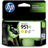 Cartus cerneala Original HP CN048AE Yellow 951XL, compatibil OfficeJet Pro 251/276/8100/8600, 1500pag CN048AE