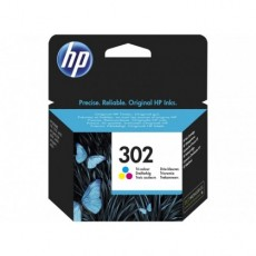 Cartus cerneala Original HP Color, nr.302, pentru DJ 2130 All-in-One, 165pag F6U65AE